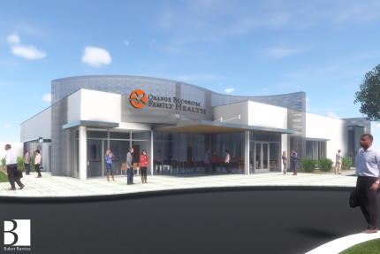 Orange Blossom Family Health, Ivey Lane location rendering