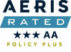 AERIS Rated 3 stars AA policy plus