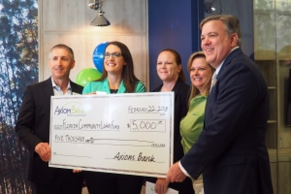 Axiom Bank Supports FCLF at New Winter Garden Branch Opening