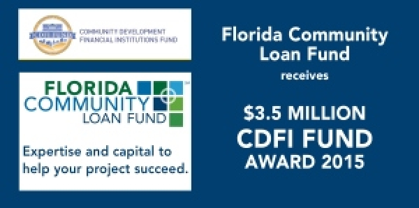 FCLF Awarded $3.5 Million from CDFI Fund