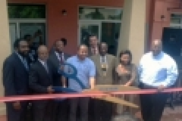 Ribbon Cutting at Carver Apartments and Shoppes