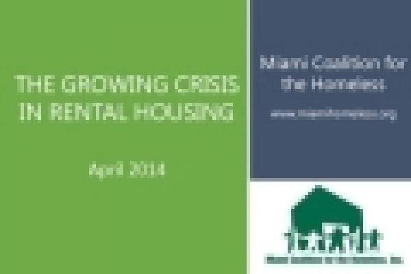 The Growing Crisis in Rental Housing: A Study