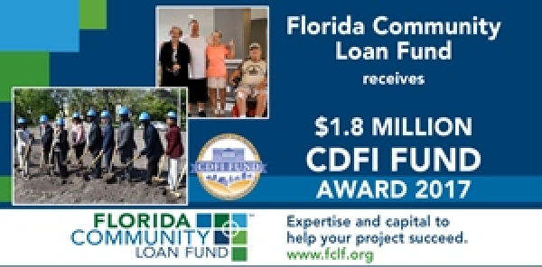 FCLF Awarded $1.8 Million from CDFI Fund