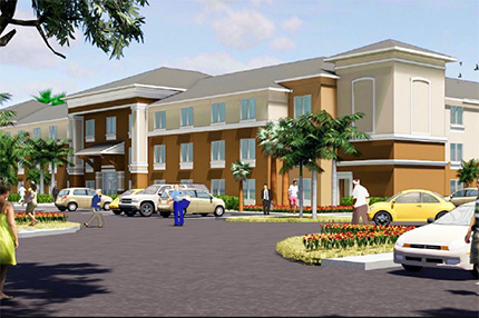 Emerald Villas rendering