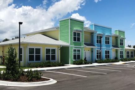 Aurora Palms will offer affordable rental housing, developed by Housing Authority of Brevard, financed by FCLF