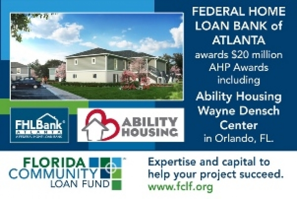 Federal Home Loan Bank Atlanta announces 2017 Affordable Housing Program Awards
