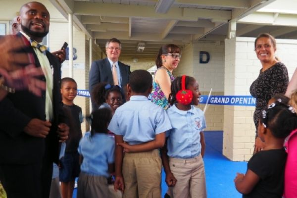 Emma Jewel Charter Academy Ribbon Cutting