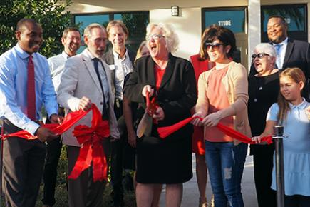 Neighborhood Renaissance cuts ribbon at West Village Art Lofts in Lake Worth