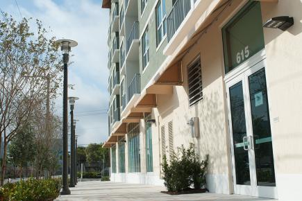 A typical multifamily community developed by Turnstone Development