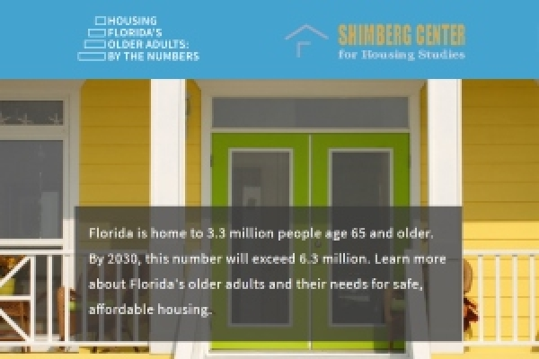 Shimberg Center Launches New Website: Housing Florida's Older Adults