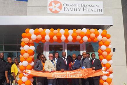Orange Blossom Family Health celebrates the new facility, financed by Florida Community Loan Fund and others