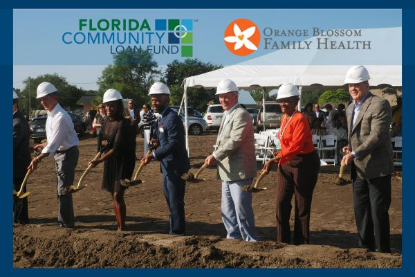 Orange Blossom Family Health groundbreaking at Ivey Lane