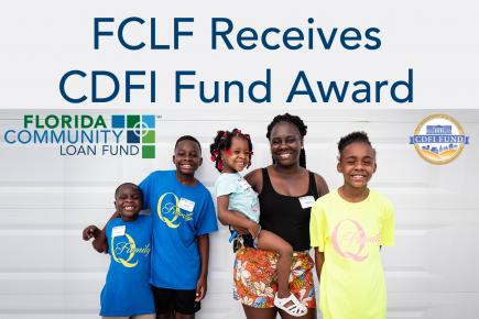 FCLF's CDFI Fund Award will grow lending in Florida