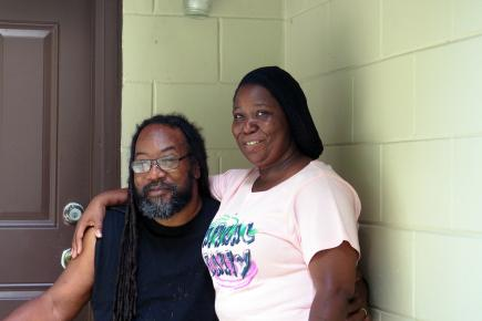 Thanks to PASF, these Orlando residents enjoy their remodeled affordable rental home.