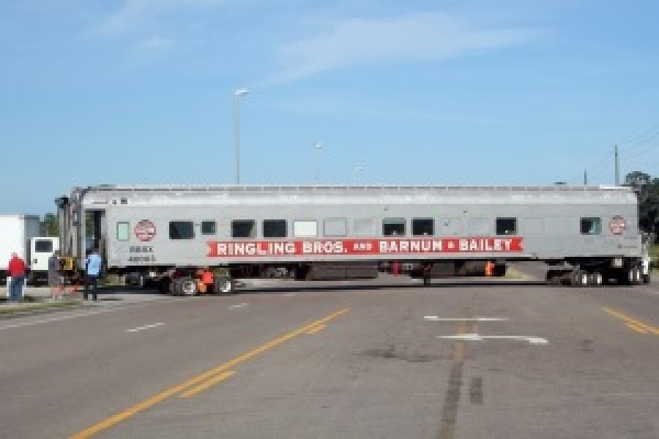 Showpeople's Winter Quarters Receives Circus Train Car Donation