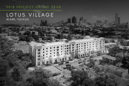 Lotus Village, 2018 Vision Award Winner from ULI SE Florida / Caribbean