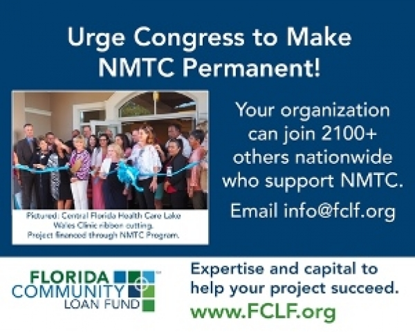 Join Florida Organizations Asking Congress to Make NMTC Permanent