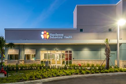 Henderson Behavioral Health, new facility financed through FCLF and NMTC