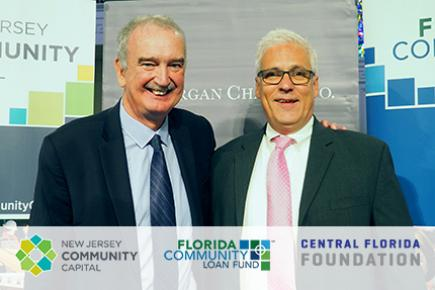 Pictured, Wayne Meyer of NJCC and Ignacio Esteban of FCLF