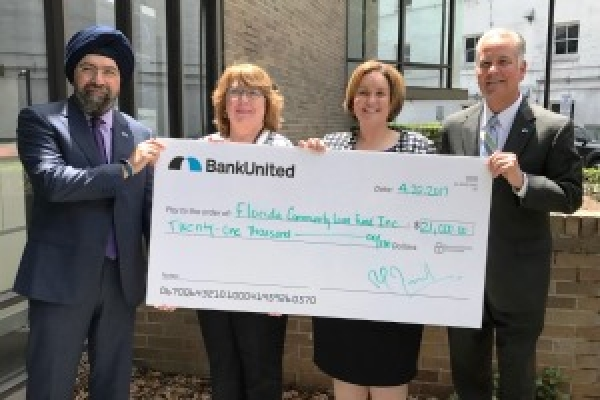 Bank United Awards Grant to Florida Community Loan Fund