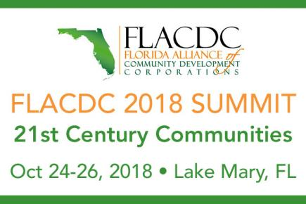 Florida Alliance of CDCs 2018 Summit to be held in Lake Mary